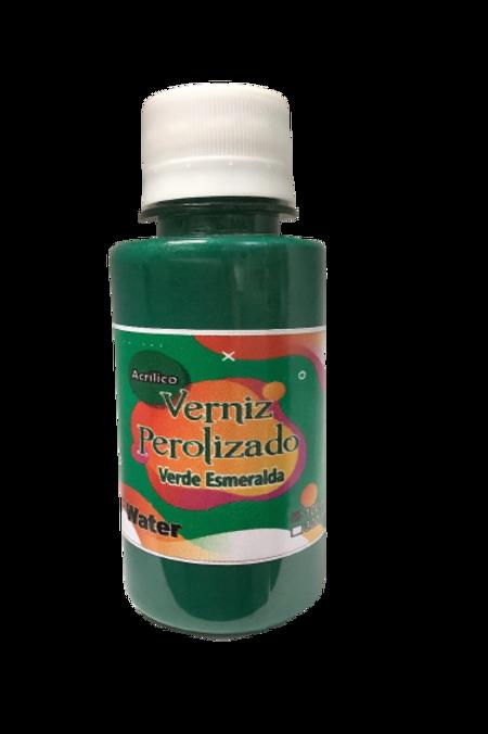 Verniz Perolizado DF WATER  100ml - Verde Esmeralda