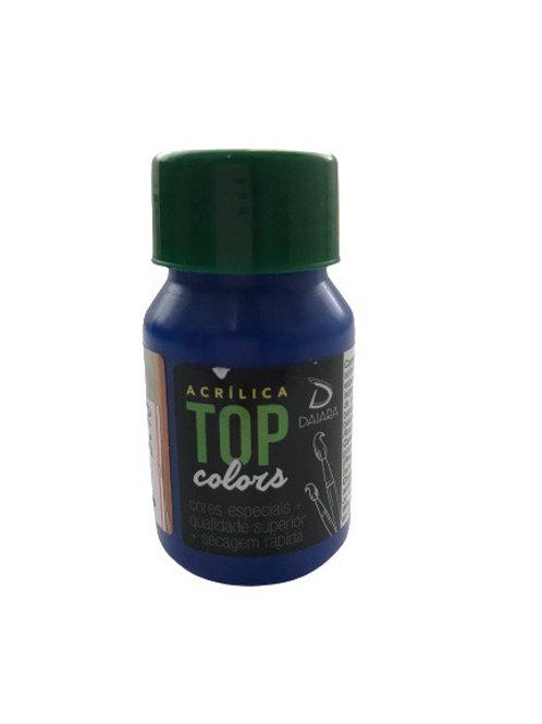 Tinta Acrílica Top Daiara 37ml - Azul Escuro