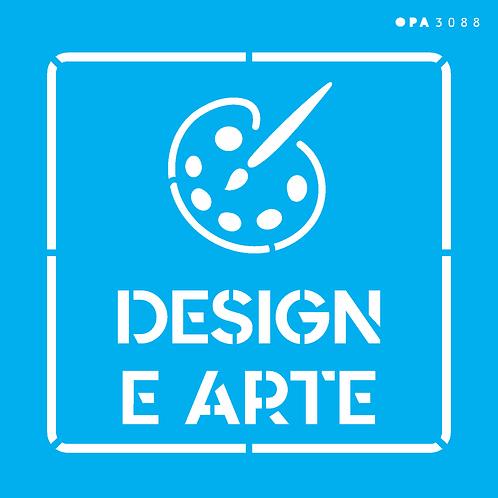 Stencil OPA 14×14 – Profissões Design e Arte