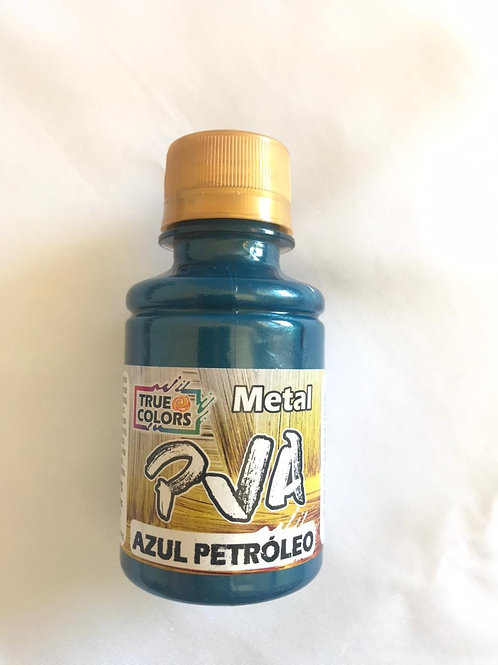 PVA Metal True Colors - Azul Petróleo 100ml