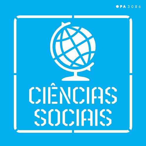 Stencil OPA 14×14  – Profissões Ciências Sociais