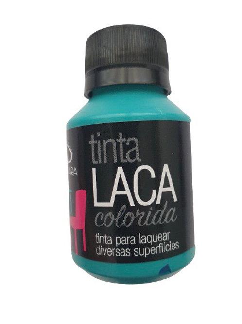 Tinta Laca Colorida Daiara 80ml - Verde Turquesa