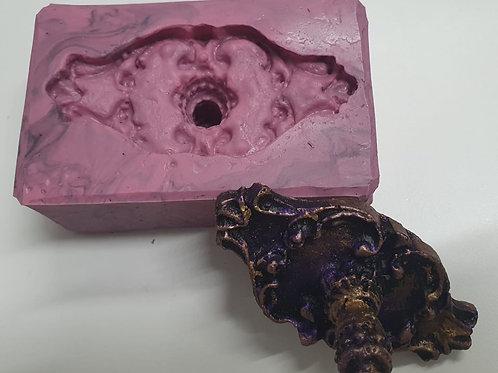 Molde de Silicone - PUXADOR OVAL 1