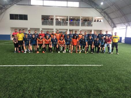 Inaugura novo Society em Guarapuava com campeões do mundo