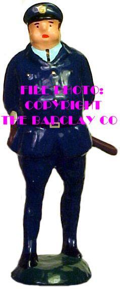 #218 - Fat Cop w/ Night Stick