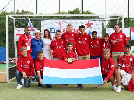 Luxembourg Hockey National Team Participates in their 1st Major Tournament - A player perspective