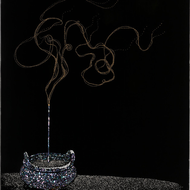 MYUNG-HEE PARK - Beyond the incense fragrance
