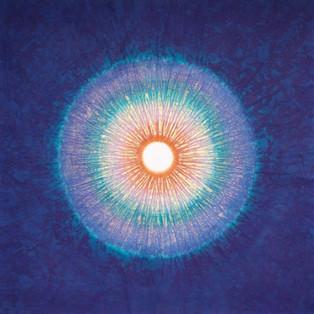 HAI-JA BANG - Sérigraphie : NAISSANCE DE LUMIERE, 60 X 60 cm, prix : 1 500€   VENDU