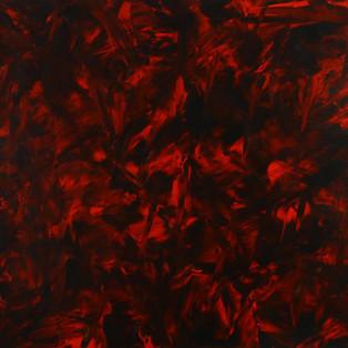 Le rouge et le noir 2017   Ian LEE  Acrylique sur  toile   130 x162 cm  - 12 000€