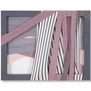 fabric-drawing-untitled Tableau de tissus - sans titre - 2016  800€