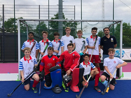 The U16 Boys of the Luxembourg national field hockey team will play their first game against Georgia