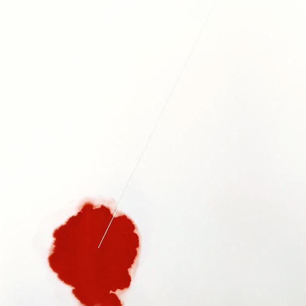 Super Love IV Techniques mixtes et poudre et pigements sur Papier  39 x 29cm, 2016, VENDU