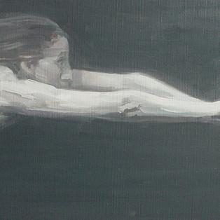 HYUK-DONG JANG - Oil on canvas 25X40cm, 2017