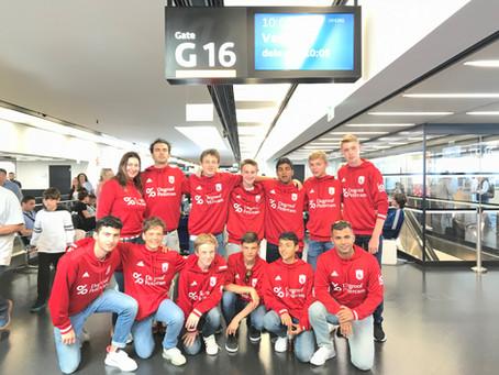 La toute jeune équipe nationale de Hockey sur gazon en route vers la Bulgarie