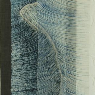 chemins infinis & voile 2019 Lee Hyun Joung  -  atelier de l'artiste