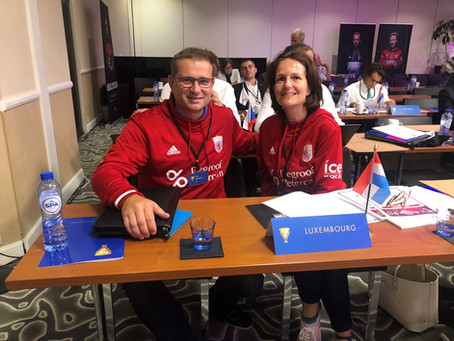 Hockey Federation Luxembourg took part at the European Hockey Federation AGM