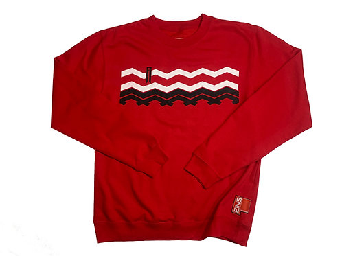 "EINS ""Tread"" Crew Red"