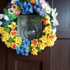 Spring wreath by Annie