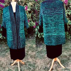 Teal jacket by Corinne