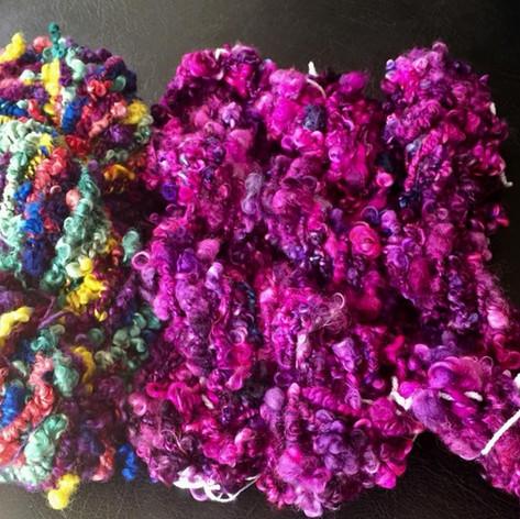 Corinne's art yarn