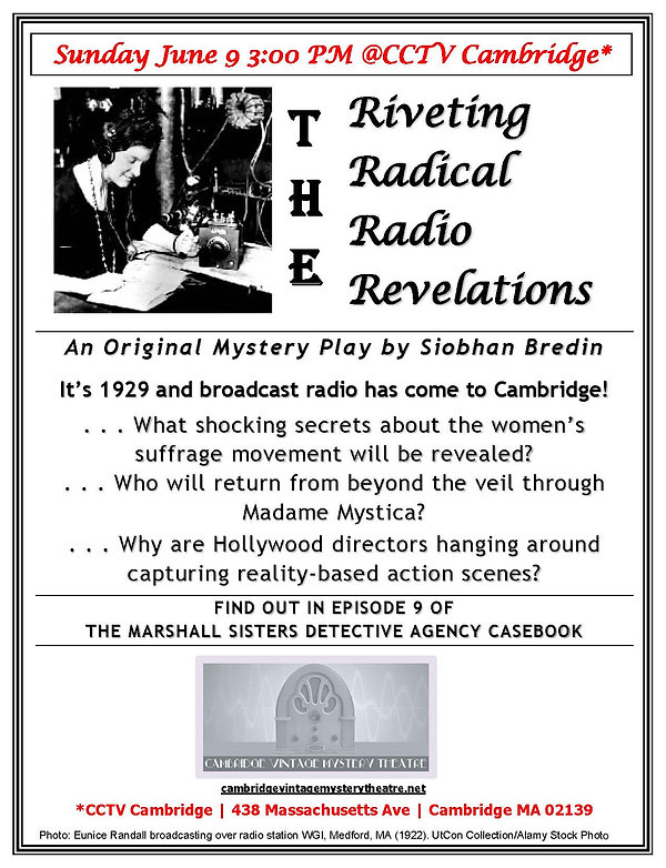 Flyer Radical Riveting Radio Revelations