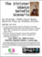 Flyer-The-Sinister-Seance-Swindle-Scenar