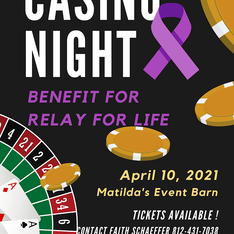 Casino Night Benefit for Relay For Life