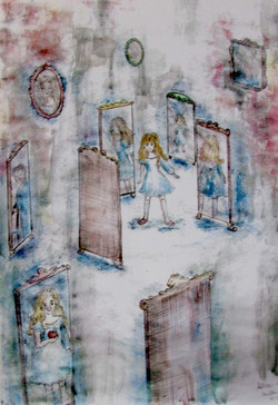 Alice in mirror land