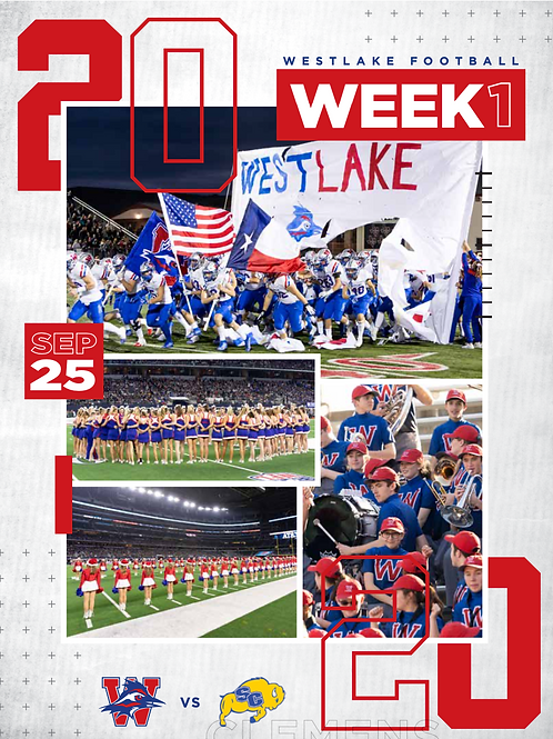 Home Game Program 4 Pack