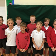 Under 9's Cross Country Team