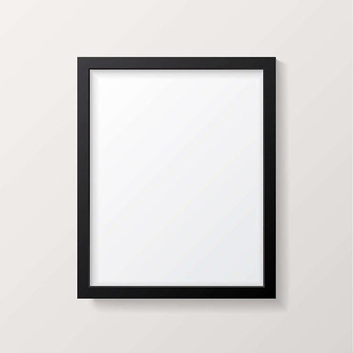 Photo Frame with Matte Finishing