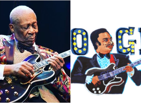 'Lord of The Blues' BB King Honored by Google Doodle on 94th Birth Annivesary