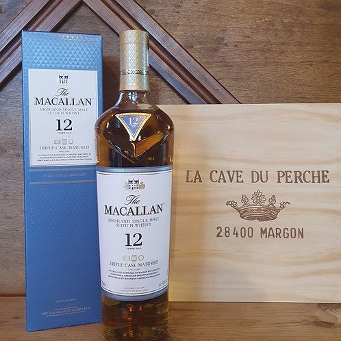 WHISKY - THE MACALLAN - 12 ANS - TRIPLE CASK
