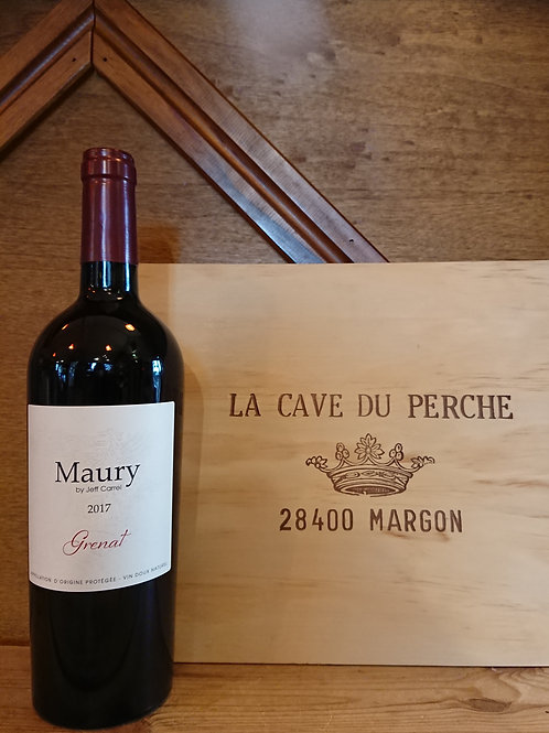 Maury rouge -Vin doux naturel - Jeff Carrel