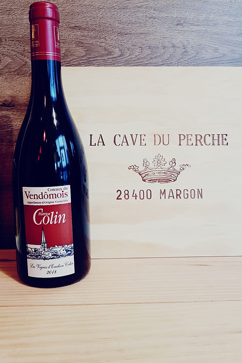 COTEAUX DU VENDOMOIS - ROUGE EMILIEN COLIN - PATRICE COLIN 2013