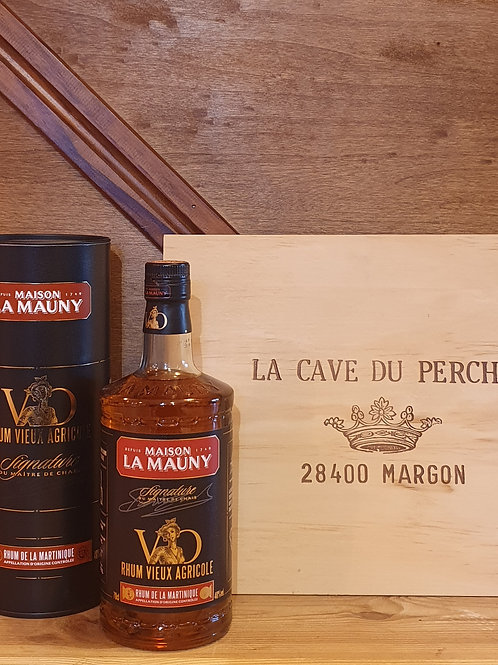 LA MAUNY VO - SIGNATURE MAITRE DE CHAIS- MARTINIQUE