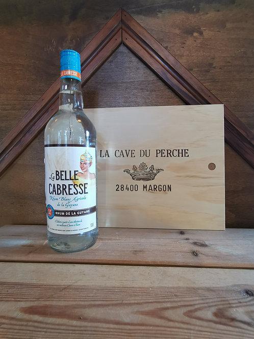 LA BELLE CABRESSE - RHUM BLANC GUYANE