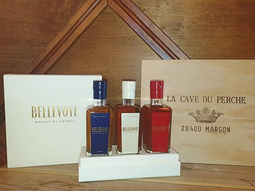 WHISKY DE FRANCE - COFFRET DECOUVERTE - BELLEVOYE