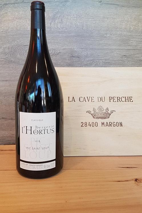 BERGERIE DE L'HORTUS ROUGE - MAGNUM - DOMAINE DE L'HORTUS 2015
