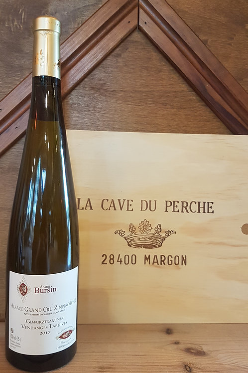 GEWURZTRAMINER GRAND CRU - ZINKOEPFLE VENDANGES TARDIVES - AGATHE BURSIN 2015