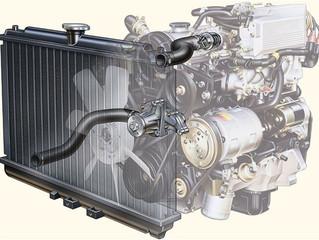 Уход за системой охлаждения двигателя