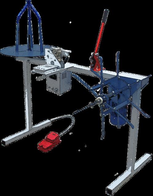 Автоматическое устройство для мерной перемотки провода, гофротрубы, шланга, полотна, ленты, металлорукова