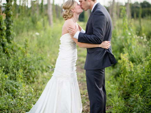 Abandon Brewery Wedding ((Maura & Will))