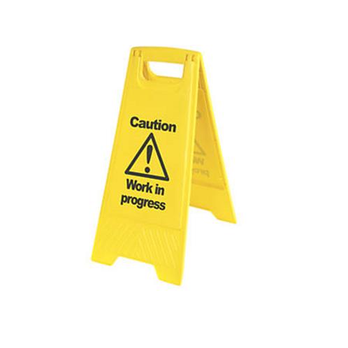 Caution Work in Progress Sign