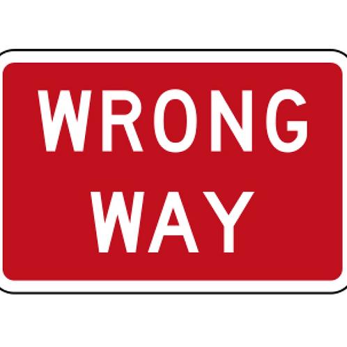 Wrong Way A4