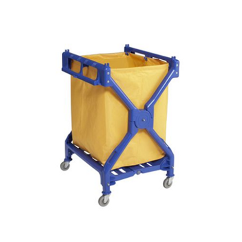 Laundry Trolley with Bag X-Frame