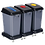 Thumbnail: Waiste & Recycling Station 60ltr Set of 3