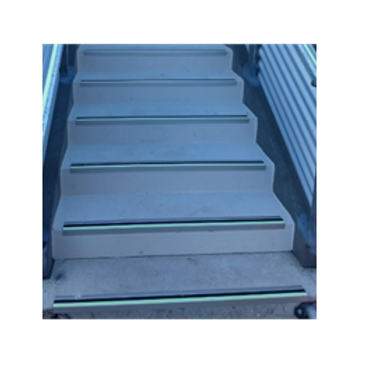 Outdoor Safety Stair Nosing Glow in the Dark - Anti Slip 800mm