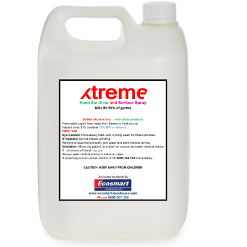 xtreme Hand Sanitiser and Surface Spray