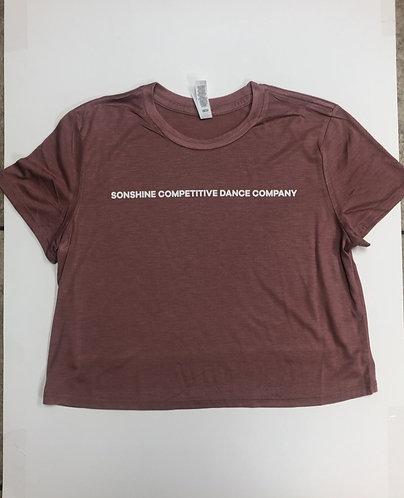 SCDC Cropped Tshirt